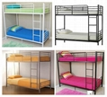 factory supply steel bed,single bed,double-decker bed 3