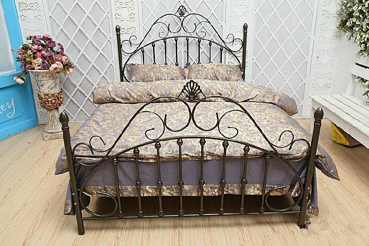 factory supply steel bed,single bed,double-decker bed 4