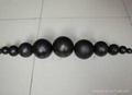 hot rolled high hardness grinding media balls 2