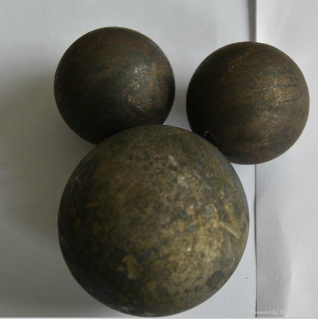 hot rolled high hardness grinding media balls 1