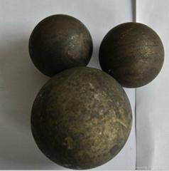 hot rolled high hardness grinding media balls