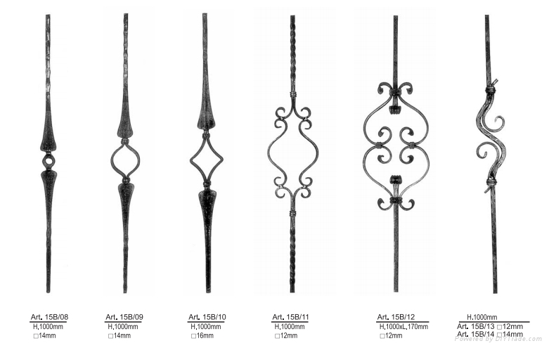wrought iron ornaments 5