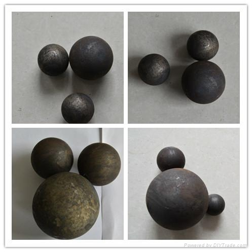 high hardness forged steel grinding media balls 1