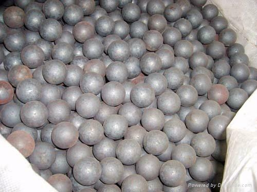 60Mn forged steel grinding media balls 4