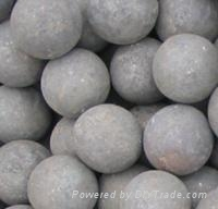 hot rolled forged steel grinding media balls 1