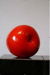 中国红玻璃钢雕塑摆件