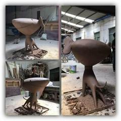公司玻璃鋼雕塑