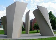 城市广场不锈钢雕塑
