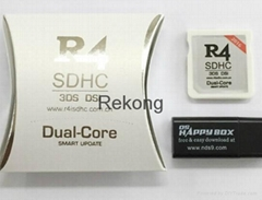 white R4 Card sdhc Dual Core Card for 3DS 2017