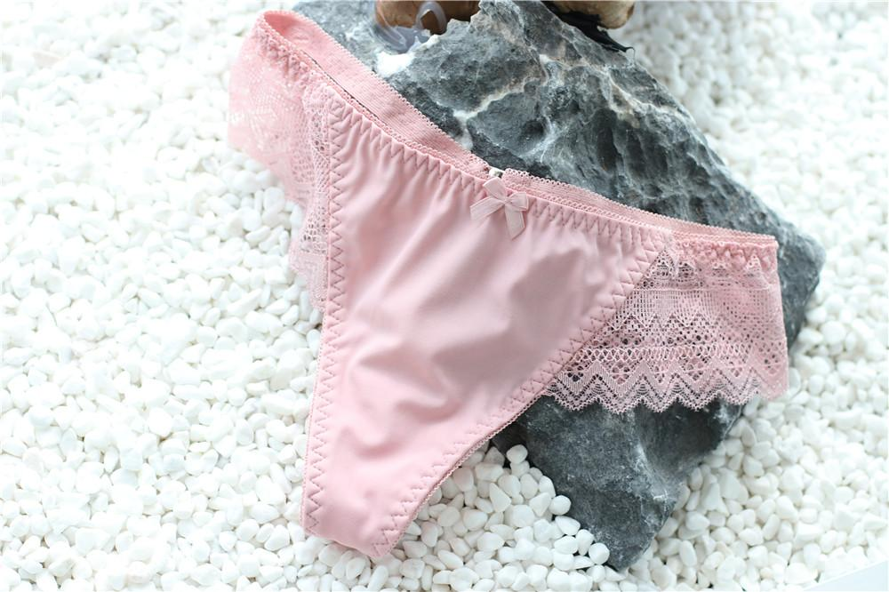 low rise young girl lace fancy underwear sexy women g string panties thongs 4