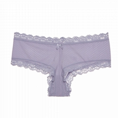 New Design Seamless Lingerie Transparent Woman's Sexy Panties Young Gril Lady La