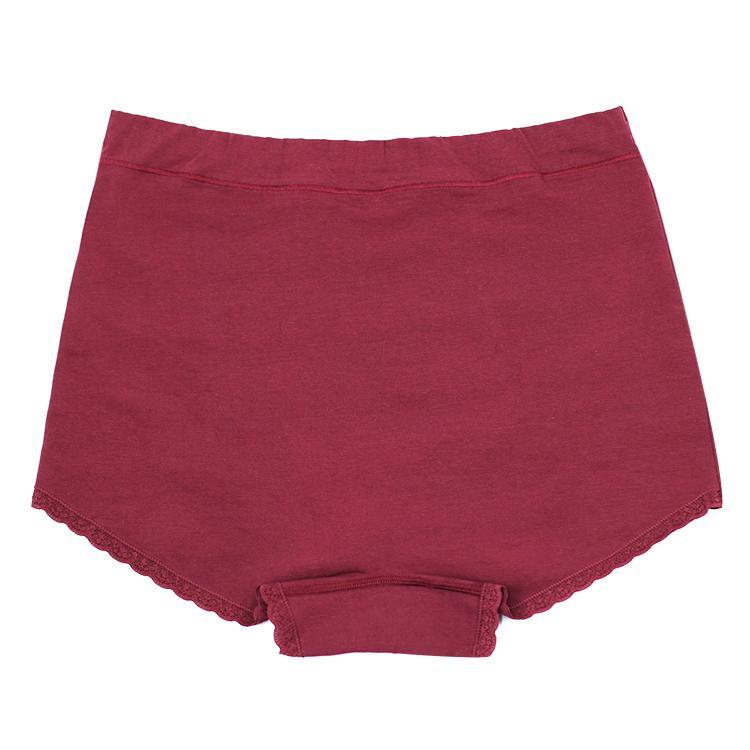 Custom Design Cotton Fat Ladies Thermal Underwear Sexy Women Lingerie Plus Size  2
