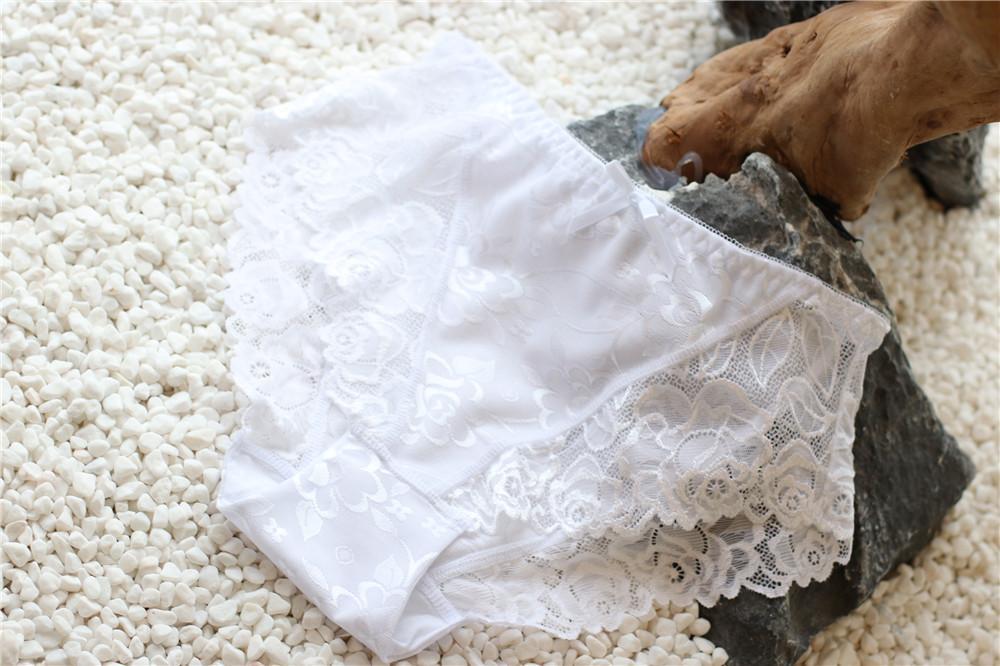 Custom Design butterfly plus size ladies lingerie seamless panties women 3