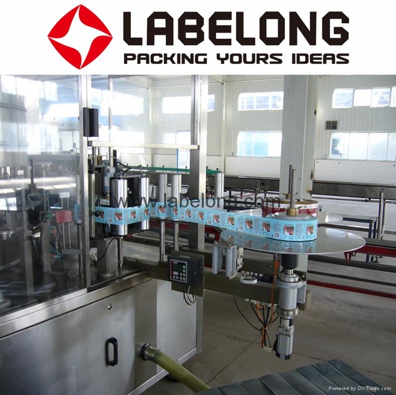 Pet Bottle Roll-Fed Labeling Machine  5