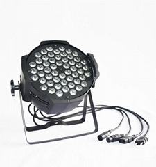 54*3W RGBW led par can light stage equipment