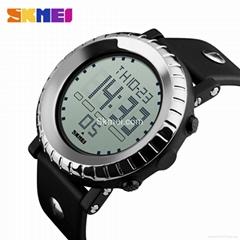 Best digital waterproof watch for men Skmei DG1172 sport watch EL light