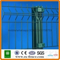 2017popular pvc coated security field fence