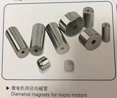 微電機用徑向磁管