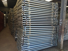 Scaffolding steel Prop jack post for
