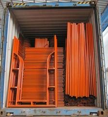 Steel H frame scaffolding