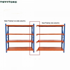 400kg/shelf  Mobile Heavy Duty Warehouse Rack