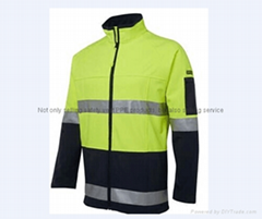 A-safety reflective safety Jumper vest  t shirt meet EN20471