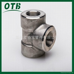 forged fittings stainless steel carbon steel female threaded NPT/RCNPT/RC3000lbs