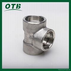 高壓鍛造管件不鏽鋼碳鋼承插焊三通承插套焊三通