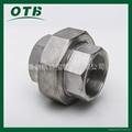 高压锻造管件不锈钢碳钢螺纹丝扣