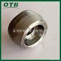 高压管件锻造不锈钢304/316L承插支管台承插焊管座鞍座鞍型管接头 1