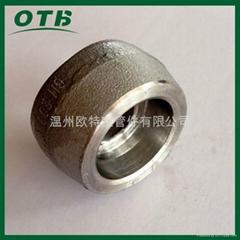 高压管件锻造不锈钢304/316L承插支管台承插焊管座鞍座鞍型管接头