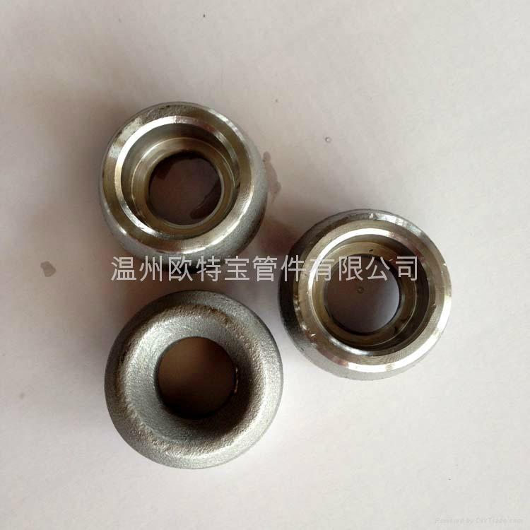 高压管件锻造不锈钢304/316L承插支管台承插焊管座鞍座鞍型管接头 2