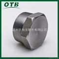 高压锻造管件不锈钢碳钢六角堵头