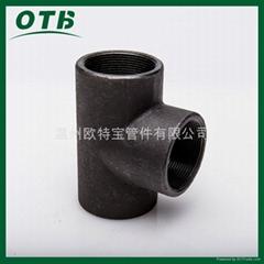 德标管件EN10241管件锻造管件镀锌发黑