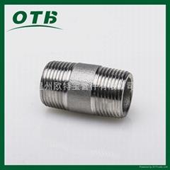 高压管件不锈钢碳钢304/316L/CS双头螺纹短节
