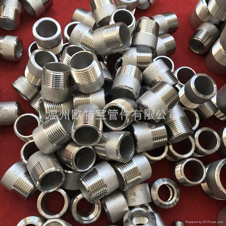 高压管件不锈钢碳钢304/316L/CS双头螺纹短节 4