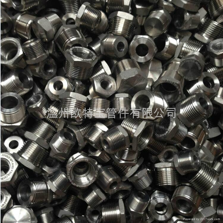 forged fittings ss/cs hex bushing high pressure NPT/PT - 1/8