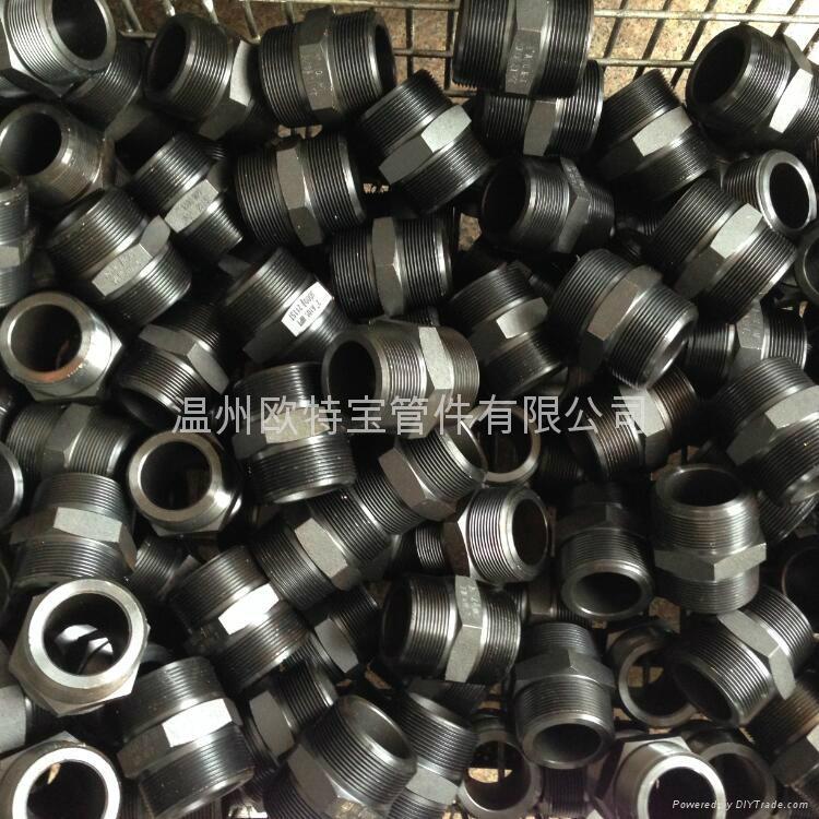 高压管件不锈钢碳钢304/316L六角外丝管接头短管加厚 3