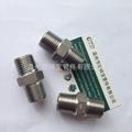 高压管件不锈钢碳钢304/316L六角外丝管接头短管加厚 2