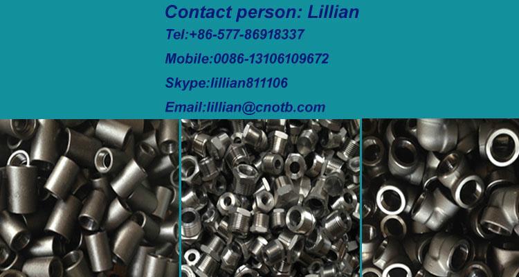 高压管件不锈钢碳钢304/316L六角外丝管接头短管加厚 5