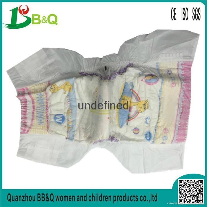 China Diaper Manufacturer 2017 NEW High Absorption Breathable Cheap BABY DIAPERS 2