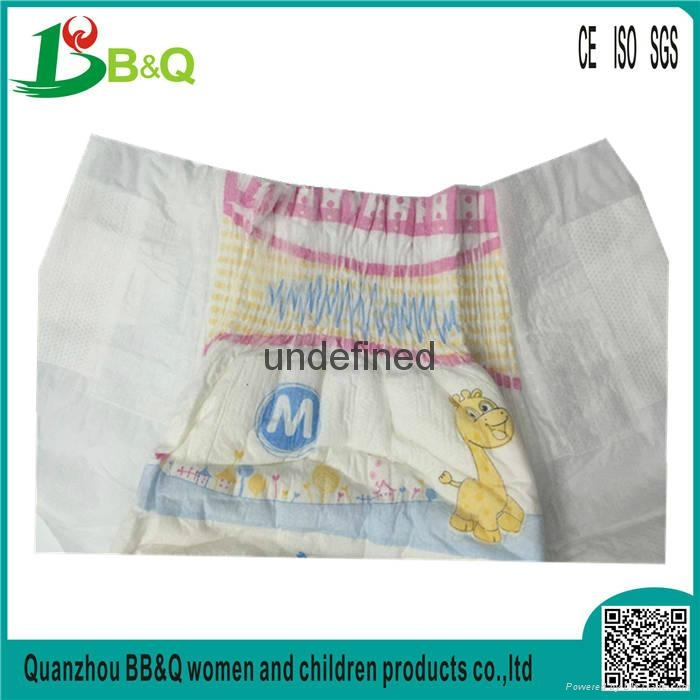 China Diaper Manufacturer 2017 NEW High Absorption Breathable Cheap BABY DIAPERS 4