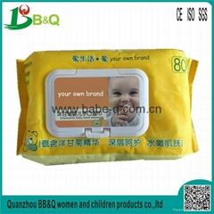 factory directly sale private label dry baby wipes ,free baby wipe samples