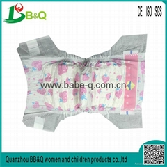 soft breathable absorption baby diapers