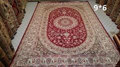 handmade new wool carpet