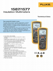 Insulation Multimeters