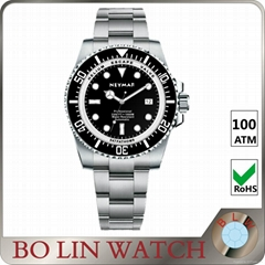 man bracelet watches gold plated steel band steel chain watch stainless steel wr