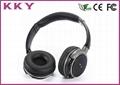 Bass Headband Bluetooth Headphones with