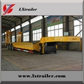 60Tons low loader 13m low bed semi