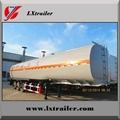 Aluminum Steel 50CBM oil fuel storage